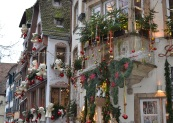 Strasbourg, France, at Christmas time.