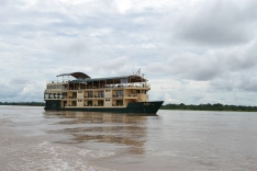 Riverboat cruise along the Amazon in Peru