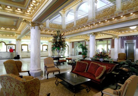 Lobby at French Lick, Indiana, Springs Hotel