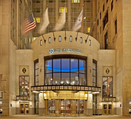 InterContinental Chicago on the Magnificent Mile, Michigan Avenue.