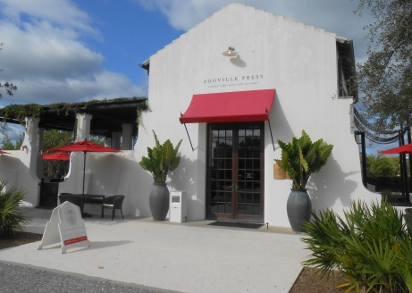 Our coffee shop, Alys Beach