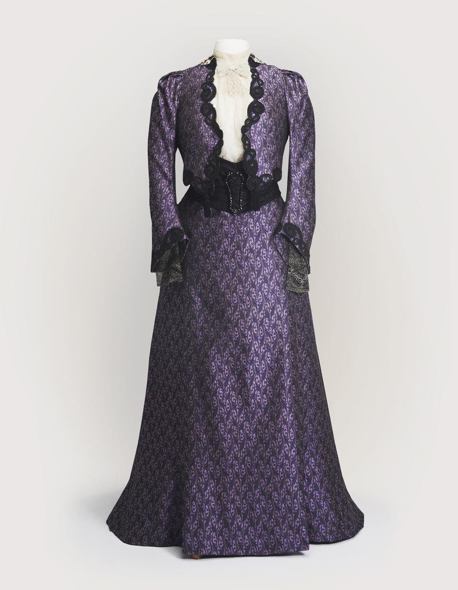 4. Dowager-Purple-Dress
