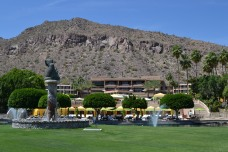 The Phoenician, Scottsdale, against a mountain backdrop