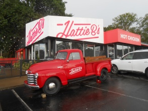 Mighty fine hot chicken at Hattie B's in Nashville