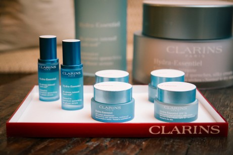 Clarins Hydra-Essential quenches skin from within.