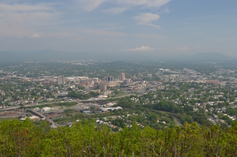 Roanoke VA Panorama