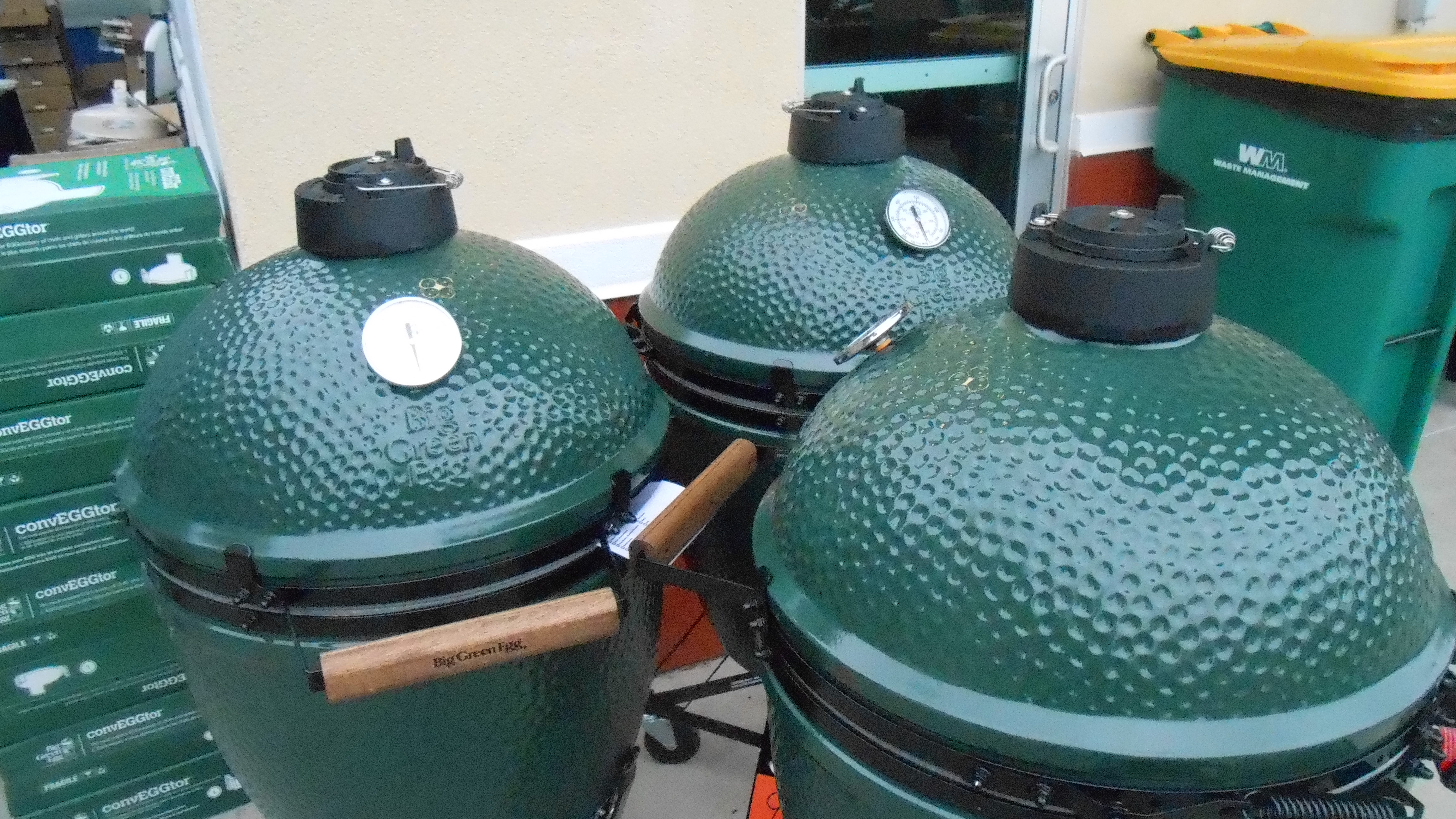 Green Egg Cookers